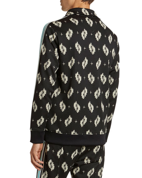 Image 2 of 5: Kenzo Men's Ikat Jacquard Track Jacket