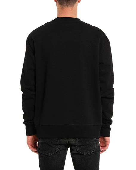 Diesel Men's S-Bay-BX5 Barbed Wire Graphic Sweatshirt