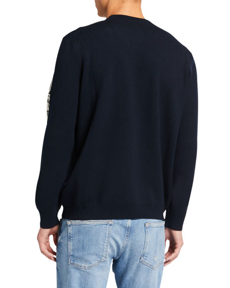 Image 2 of 2: Kenzo Men's Mermaids Typographic Sweater