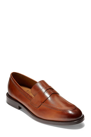 Cole Haan Men's Kneeland Grand Leather Penny Loafers