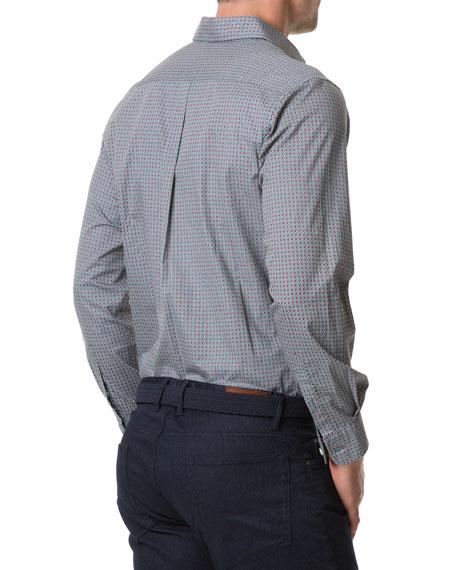 Rodd & Gunn Men's Donnelly Track Jacquard Sport Shirt
