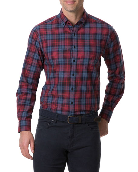Rodd & Gunn Men's Fairham Plaid Sport Shirt