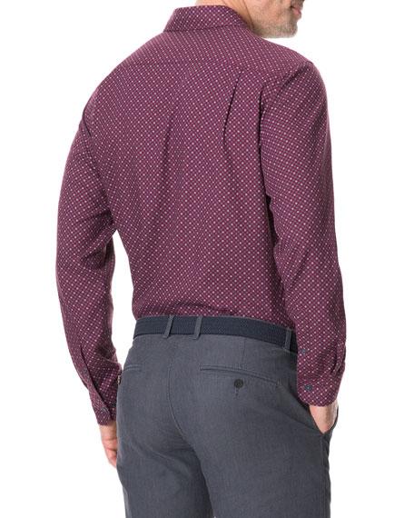 Rodd & Gunn Men's Meadowood Jacquard Sport Shirt