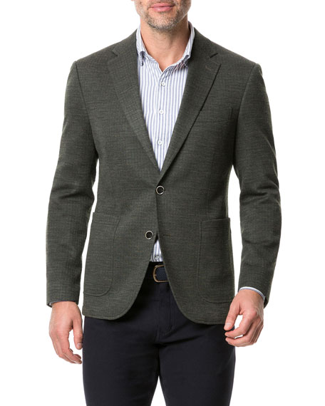 Rodd & Gunn Men's Anchorage Two-Button Jacket