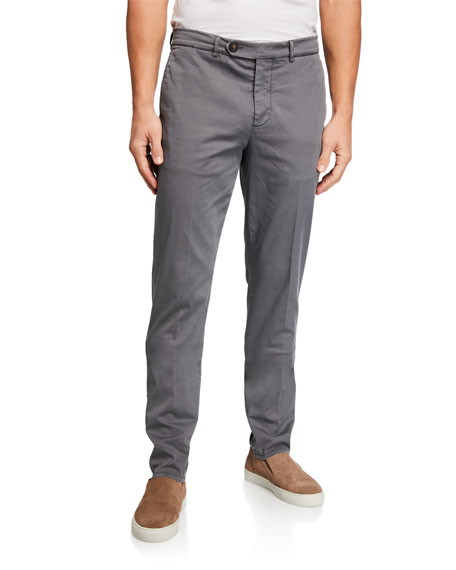 Brunello Cucinelli Pants Men's Basic Fit Chino Pants