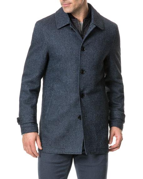 Rodd & Gunn Men's Balmoral Forest Wool Coat
