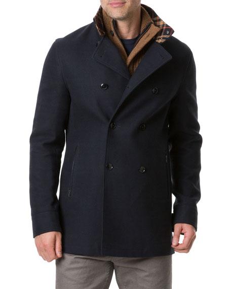 Rodd & Gunn Men's Nixon Road Double-Breasted Coat