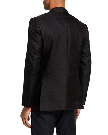 Image 2 of 3: Ermenegildo Zegna Men's Peak-Lapel Dinner Jacket