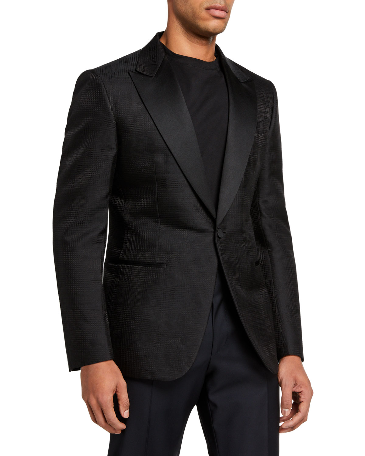 Ermenegildo Zegna Men's Peak-Lapel Dinner Jacket