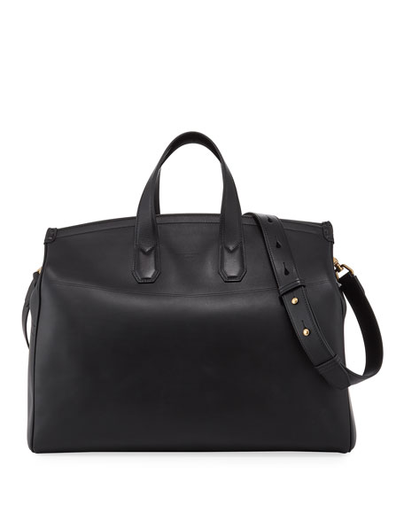 dunhill Men's Duke Leather Weekender Bag