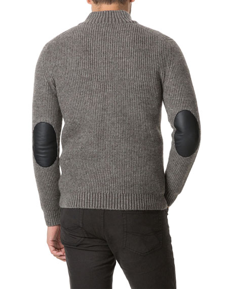 Rodd & Gunn Men's Lodge Quarter-Zip Sweater