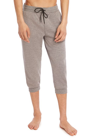 2Xist Men's Cropped Fleece Jogger Pants
