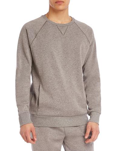 Men's Brushed Fleece Raglan Sweatshirt