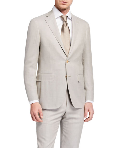 Canali Men's Two-Piece Wool Suit