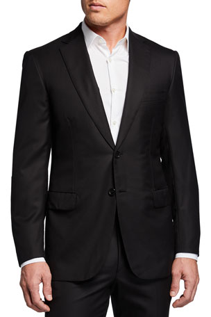 Brioni Men's Brunico Basic Virgin Wool Two-Piece Suit