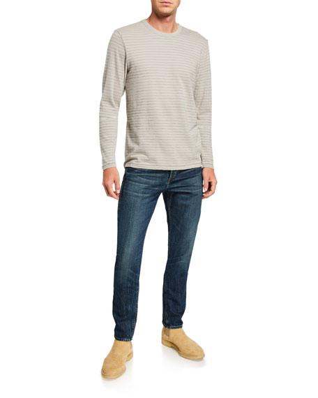 Rag & Bone Men's Slim High-Rise Medium-Wash Jeans