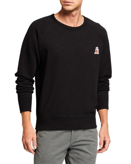 Rag & Bone Men's Pizza Rat Applique Sweatshirt