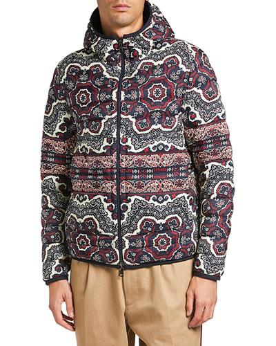Men's Zois Reversible Puffer Coat