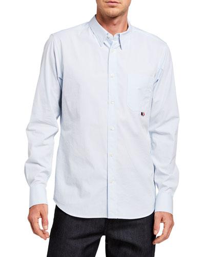 Men's Camicia Poplin Sport Shirt