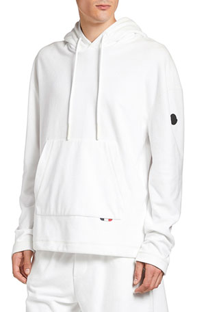 Moncler Men's Pullover Cotton Hoodie