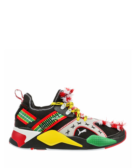 Puma Men's Jahnkoy RS-X Knit Multipattern Tassel Sneakers
