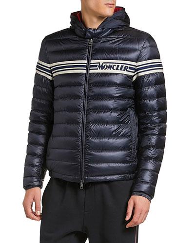 Men's Renald Zip-Front Puffer Coat