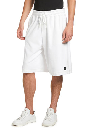 Moncler Men's Oversized Cotton Sweat Shorts