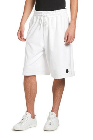 Moncler Men's Oversized Cotton Sweat Shorts