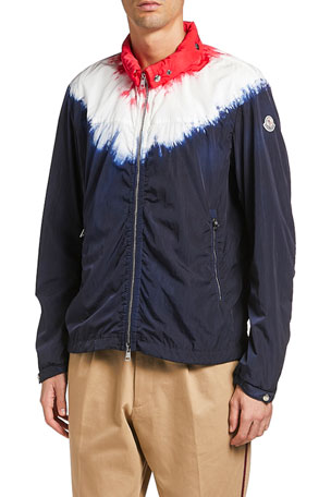 Moncler Men's Saut Tie-Dye Jacket