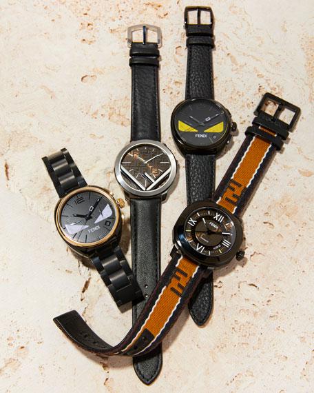 Fendi Men's Selleria Automatic Watch w/ Interchangeable Straps