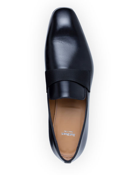 Image 2 of 5: Paul Stuart Men's Heron Smooth Leather Loafers