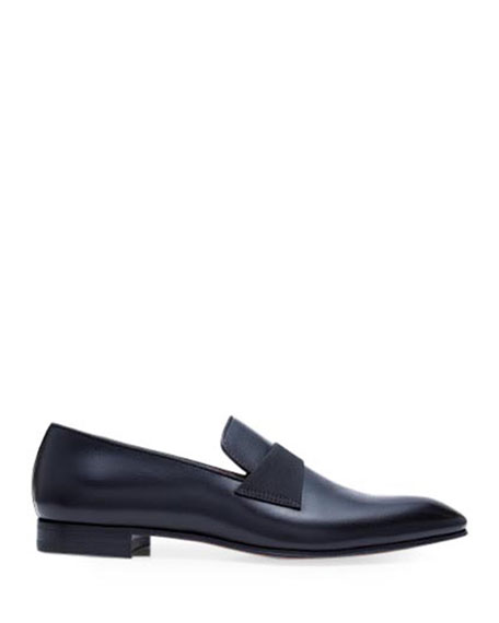 Image 3 of 5: Paul Stuart Men's Heron Smooth Leather Loafers