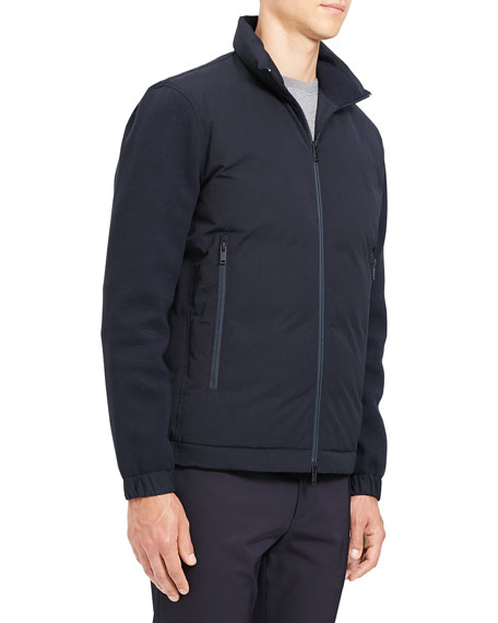 Theory Men's Alpine Diffusion-Knit Jacket