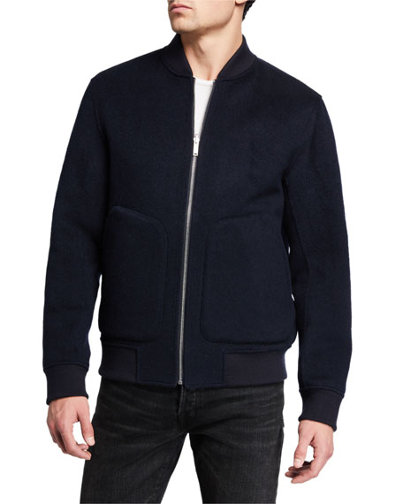 Theory Men's Jorge Striped Double-Face Jacket