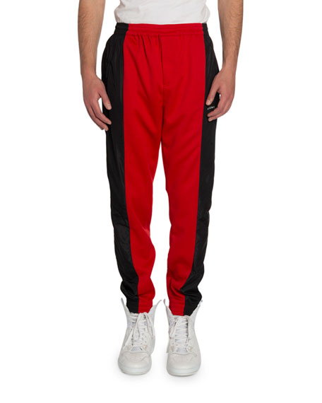 Givenchy Men's Colorblock Jogger Pants