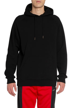 Givenchy Men's Logo Typographic Pullover Hoodie