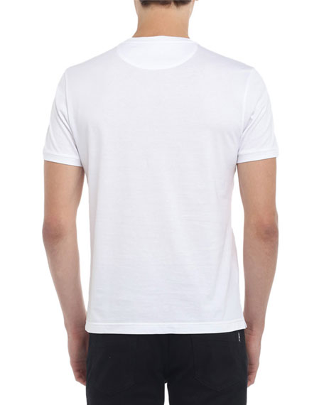 Fendi Men's Faded-FF Tonal T-Shirt