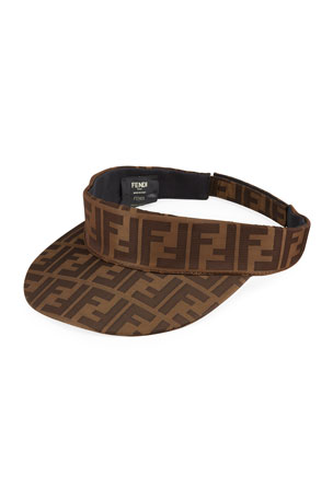 Fendi Men's FF Logo Visor