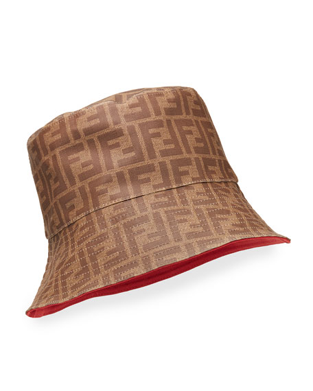Fendi Men's FF Logo Bucket Hat