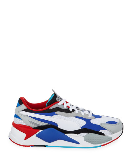 Puma Men's RS-X3 Cube Colorblock Running Sneakers