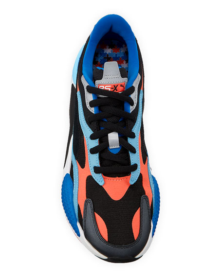 Image 2 of 4: Men's RS-X3 Level Up Colorblock Running Sneakers