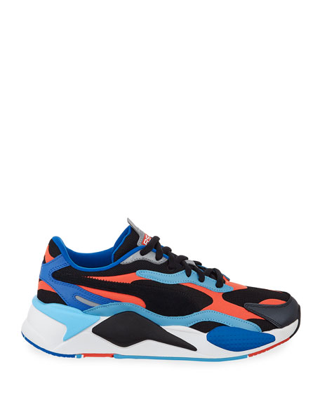 Image 3 of 4: Men's RS-X3 Level Up Colorblock Running Sneakers