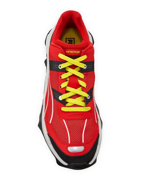 Puma Men's Nightwolf Ravekids Mesh/Leather Running Sneakers