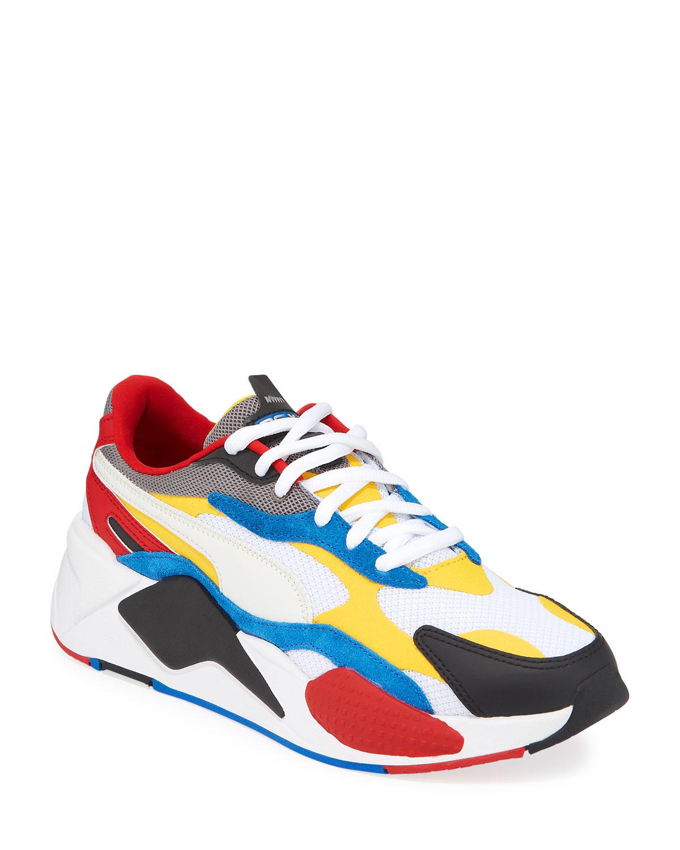 Puma Men's RS-X3 Cube Trainer Sneakers
