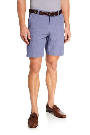 Peter Millar Men's Seaside Gulf Hybrid Stretch Shorts