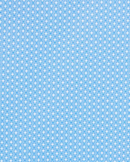 Peter Millar Men's Ward Print Diamond Jersey Polo Shirt
