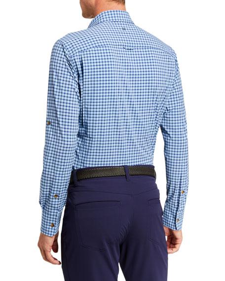 Peter Millar Men's Seaside Gulf Vented Sport Shirt