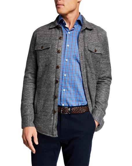 Peter Millar Jackets Men's Mountainside Slub Soft Jacket