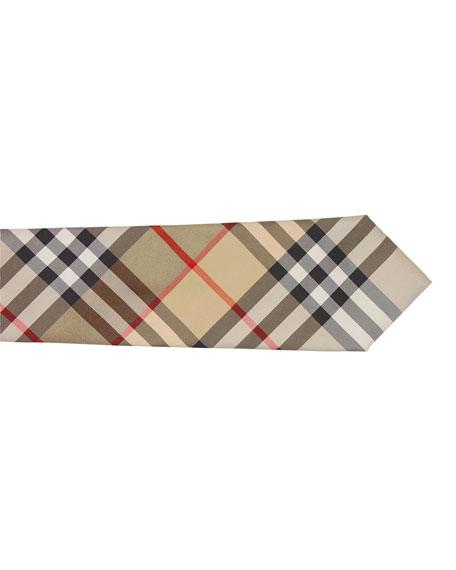Burberry Manston Check Silk Tie