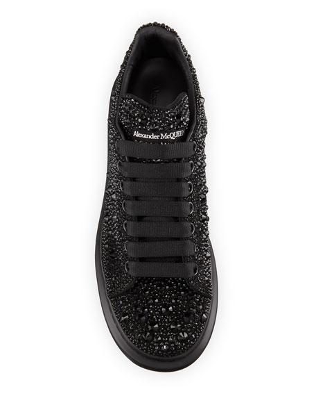 Alexander McQueen Men's Crystal-Embellished Oversized Sneaker